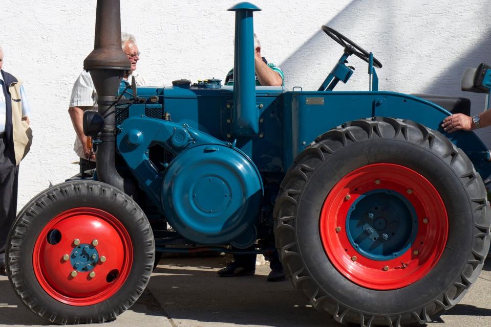 Lanz Oldtimer Landwirtschaft © Hannes Schleeh