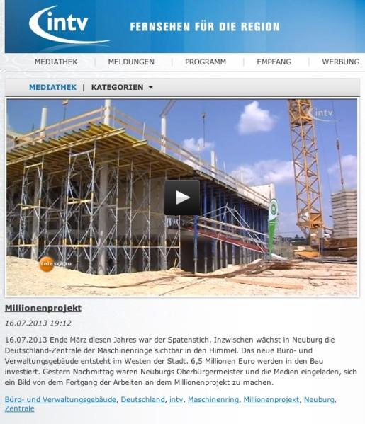 Maschinenring Neubau für 6,5 Millionen
