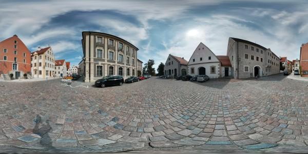 Marstallgebäude Neuburg an der Donau Ottheinrichplatz
