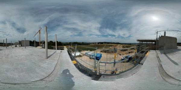 Neubau Maschinenringe Rohbau