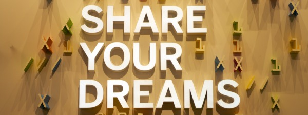 Share your dreams