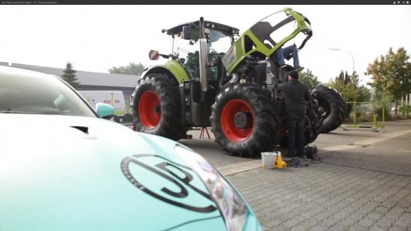 Traktor zu Taxi
