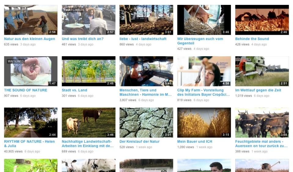 Clip my Farm 2013 Übersicht