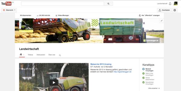 Die Agrar-Blogger auf YouTube