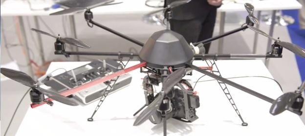 Drohne auf der AGRITECHNICA 2013