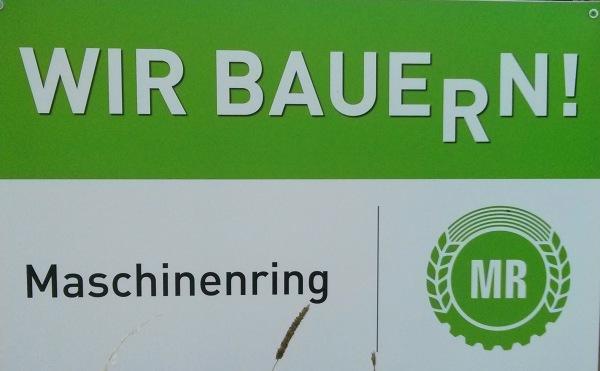 Maschinenringe Wir Bauern Foto: Schleeh