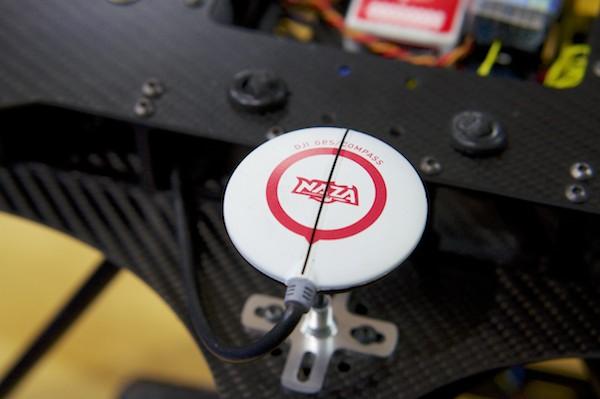 GPS Kompass auf Flugdrohne Foto: Schleeh