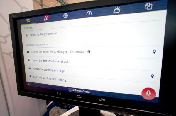 John Deere und DFKI Software zur Flottensteuerung CeBIT 2014