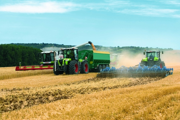 Erntekette Farming 4.0