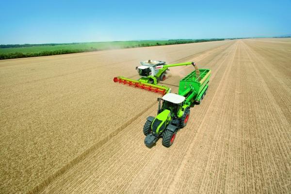 Farming 4.0 Claas Erntekette mit M2M