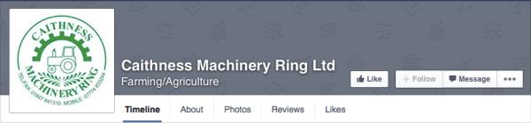 Fast schon nicht mehr als ein Maschinenring Logo erkennbar