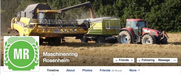 Maschinenring Rosenheim führt noch das mittelalte Logo