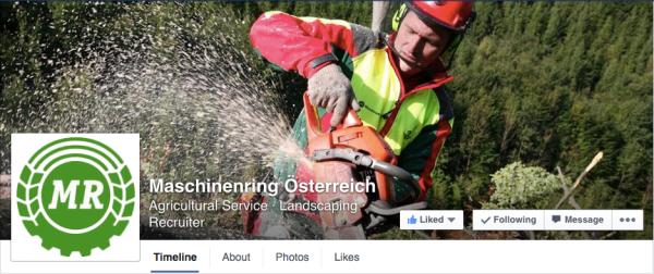 Um 2004 haben die Österreicher das Ur-Logo verändert und in ihrem CI umgesetzt