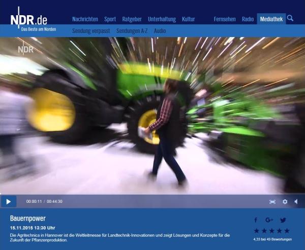 Bauernpower - NDR