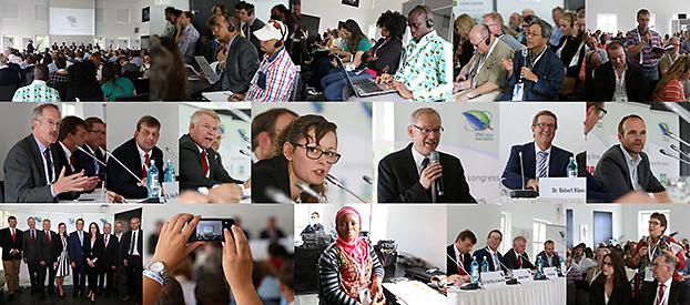 """Podiumsdiskussion """"Nachhaltige Landwirtschaft in deutschland"""" (IFAJ-Kongress 2016"""